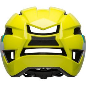 Bell Sidetrack II Helm Peuters, yellow rainbow